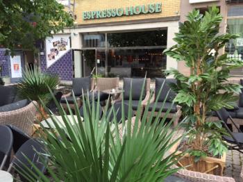 Presentationsbild för referensen Espresso House i Visby